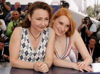 Catherine Frot and Deborah Francois at the photocall to promote