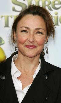 Catherine Frot at the premiere of