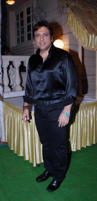 Govinda at the party for the film
