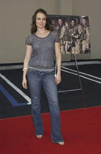 Sprague Grayden at the screening of