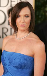 Toni Collette at the 64th Annual Golden Globe Awards.
