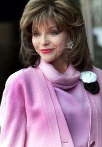 Joan Collins at the Pride of Britain awards.