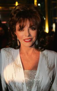 Joan Collins at the Goldene Kamera Awards.