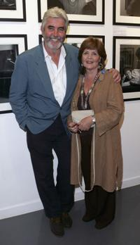 Pauline Collins and John Alderton at the private view for 'Off Stage: The RADA Centenary Portraits'.