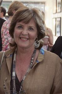 Pauline Collins at the private view of