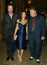 Robbie Coltrane, Anna Friel and David Thewlis at the UK Party of