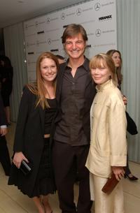 Schuyler Spacek, William Mapother and Sissy Spacek at the Miramax pre-Oscar nominee party.