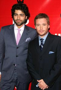 Adrian Grenier and Kevin Connolly at the premiere of