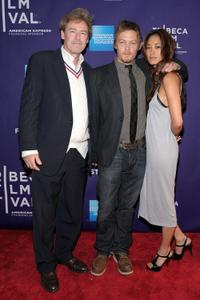 James McCaffrey, Norman Reedus and Jarah Mariano at the premiere of