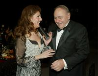 Michael Constantine and Nia Vardalos at the 9th Annual Screen Actors Guild Awards.