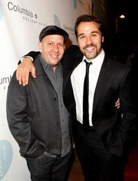 Steve Pink and Jeremy Piven at the 5th annual Columbia College Chicago Impact Awards 2007.