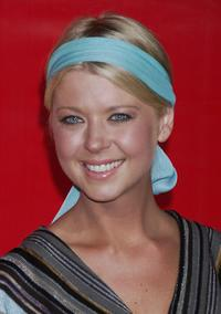 Tara Reid at the celebration for the opening of the Garrard flagship store.