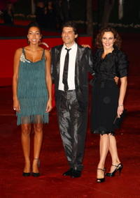 Margot Dufrene, Georges Corraface and Valeria Cavalli at the 3rd Rome International Film Festival.
