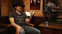 Robert Rodriguez on the set of