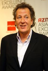 Geoffery Rush at the 2007 AZN Asian Excellence Awards.