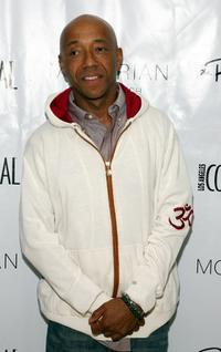 Russell Simmons at the LA Confidential Magazines annual Oscar Party.