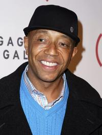 Russell Simmons at the (RED) Auction On Valentine's Day.