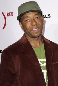 Russell Simmons at the Gap & Vanity Fairs party to celebrate the launch of the book