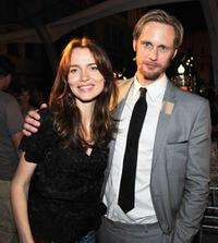 Saffron Burrows and Alexander Skarsgard at the after party of the premiere of