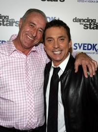 Len Goodman and Bruno Tonioli at the after party of