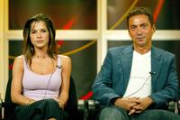 Kelly Monaco and Bruno Tonioli at the panel discussion for
