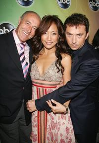 Len Goodman, Carrie Ann Inaba and Bruno Tonioli at the ABC Television Network Upfront.