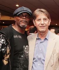 Peter Coyote and Samuel L. Jackosn at the California premiere of