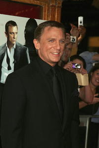 Daniel Craig at the Australian premiere of