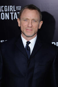 Daniel Craig at the New York premiere of