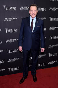 Bryan Cranston at the New York premiere of