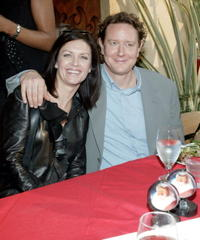 Wendy Crewson and Judge Reinhold at the premiere of
