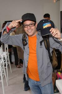 David Cross at the New Era booth.