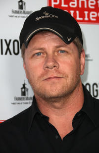 Michael Cudlitz at the Grand Opening of Robert Earl's Planet Dailies & Mixology 101 in California.