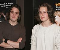 Kieran Culkin and Rory Culkin at the premiere of