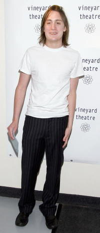 Kieran Culkin at the Benefit for the Vineyard Theater.