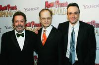 Tim Curry, David Hyde Pierce and Hank Azaria at the opening Night of