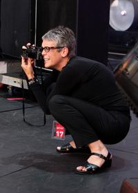 Jamie Lee Curtis at the Live Earth concert.