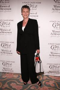 Jamie Lee Curtis at the Girlz In The Hood Celebrate Women Of Achievement Aawrds Luncheon.