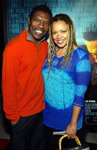 Vondie Curtis-Hall and his wife Karen Lemmons at the California premiere of