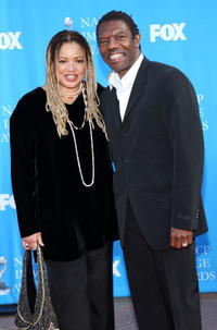 Vondie Curtis-Hall and Kasi Lemmons at the 39th NAACP Image awards.