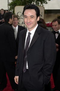John Cusack at the 58th Annual Golden Globes in Los Angeles.