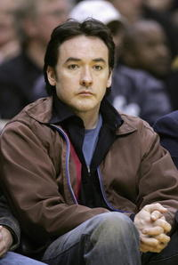 John Cusack at the Lakers vs. Jazz in Los Angeles.