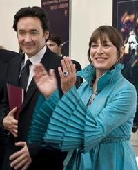 John Cusack and Anjelica Huston in