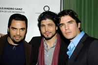 Manny Perez, Director Alejandro Monteverde and Eduardo Verastegui at the People En Espanol celebration for Alejandro Sanz & the stars of