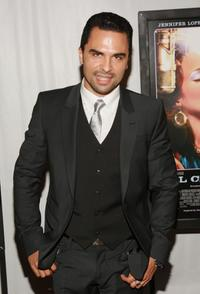 Manny Perez at the premiere of