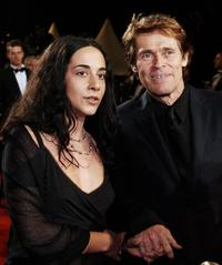 Willem Dafoe and his wife Italian director Giada Colagrande at the 59th edition of the International Cannes Film Festival.