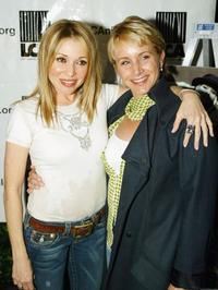 Elizabeth Daily and Gabrielle Carteris at the world premiere engagement of the one-woman play