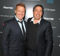 Producer Ryan Kavanaugh and David O. Russell at the screening of