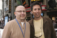 Christopher Meledandri and Ray Romano at the world premiere of