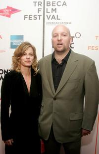 Michelle Weiss and Zak Penn at the premiere of